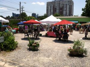 Raleigh Pop-up Sunday market