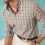 Bold checks make a statement in men's collections in Spring 2014