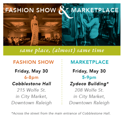 Redress fashion show and market place