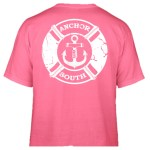Anchor South's new Lifesaver t-shirt design in pink