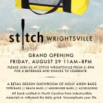 Get Your Stitch Fix at the Beach!