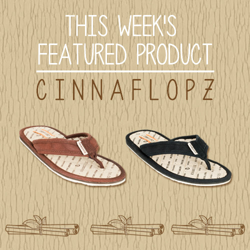 Cinnaflopz for men and women from Raleigh, NC-based Feelgoodz