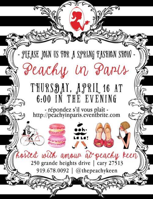 Peachy Keen's spring fashion show