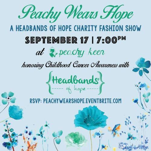 Peachy Keen hosts Headbands of Hope