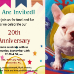 Happy 20th anniversary to our friends at Ivy Cottage Collections in Morrisville!