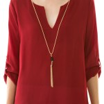 40% off this cute Chiffon blouse from Katie Leigh boutique!