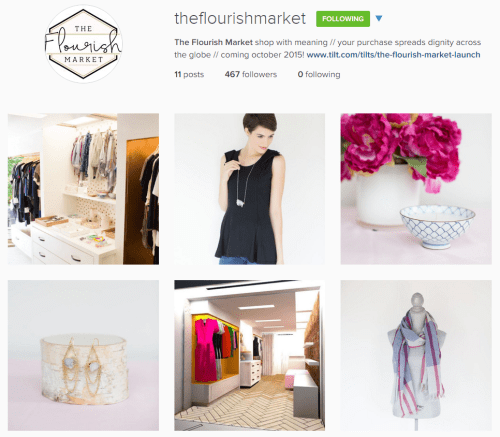 The Flourish Market has officially launched in Raleigh!