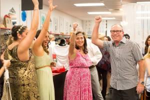 Peachy Wears Hope Fashion Show