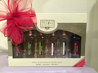 Gift sets from Midtown Olive Oil in North Hills