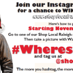"Shop Local Raleigh's ""Where's Walter?"" is Back!"