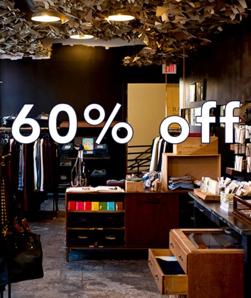 Sale at Raleigh Denim