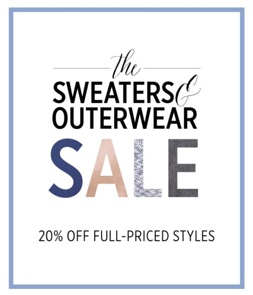 Stock up on sweaters, outerwear, and more from bevello right now - you're still going to need them for a few weeks and love them in the fall again. :-)