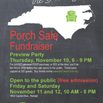 The Green Chair Project - Home for the Holidays Porch Sale Fundraiser