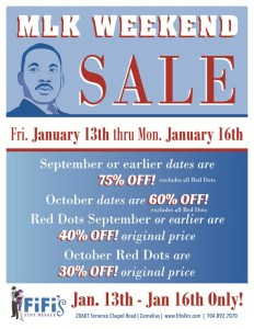Sale at Fifi's Lake Norman/Cornelius/Charlotte, NC