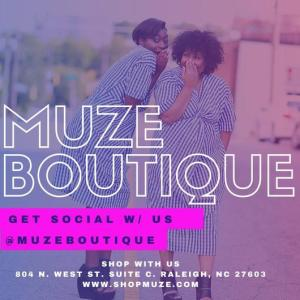 muze boutique downtown raleigh