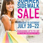 North Hills Summer Sidewalk Sale 2017