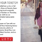 {You're Invited} Ciao! Peachy Keen: Fall Fashion Show