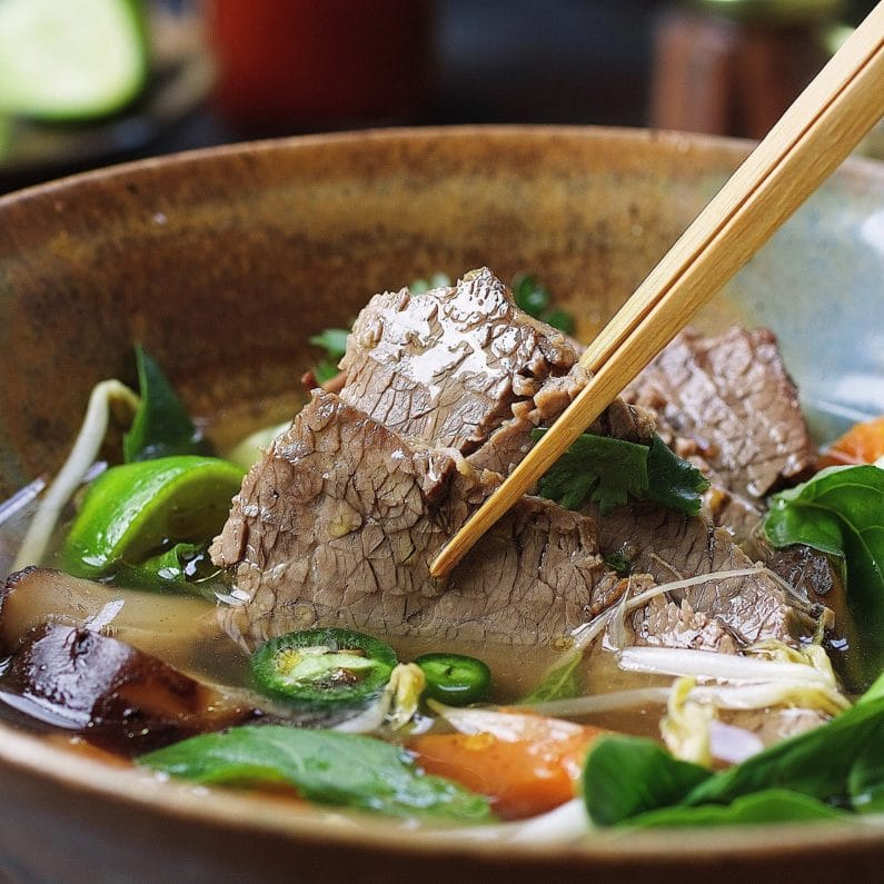 Large Brisket Pho Calories