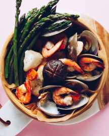 Low carb seafood dim sum from the Asian Paleo Cookbook by ChihYu Smith I Heart Umami