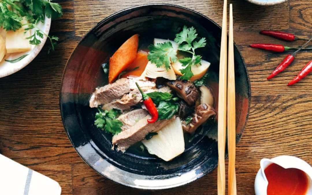 Paleo Vegetarian Pho Tender Beef Brisket