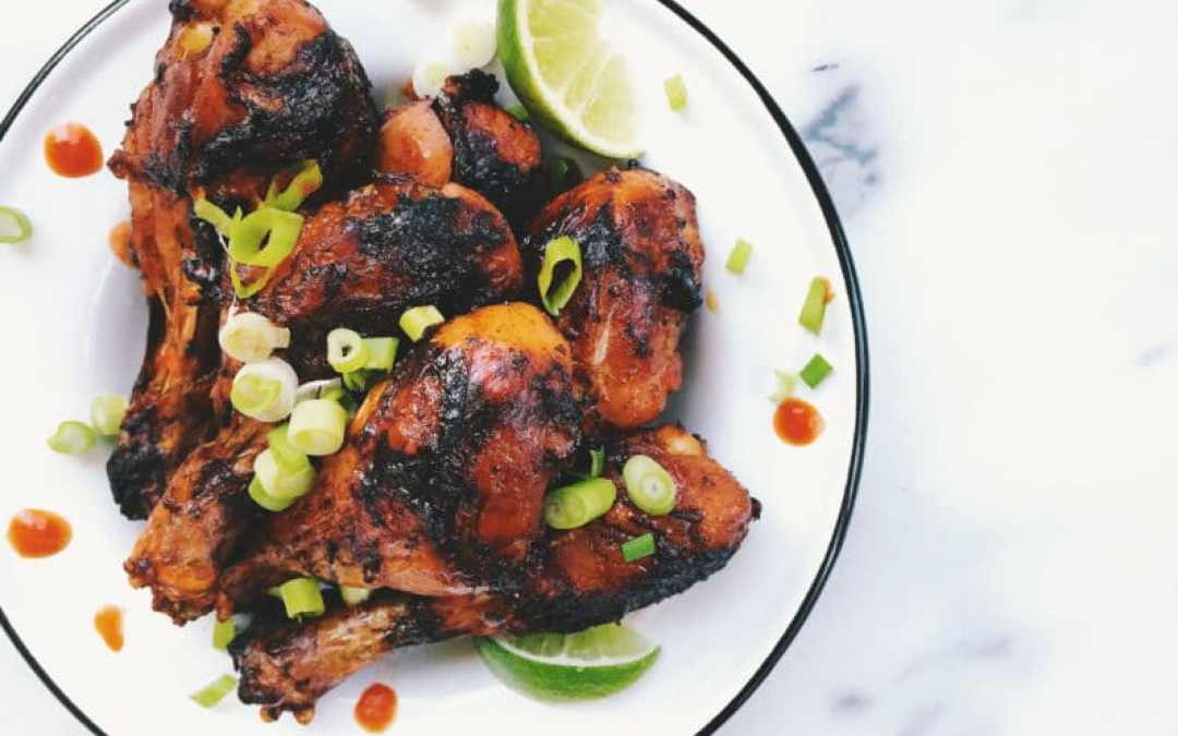 Crispy Honey Lime Chicken Drums