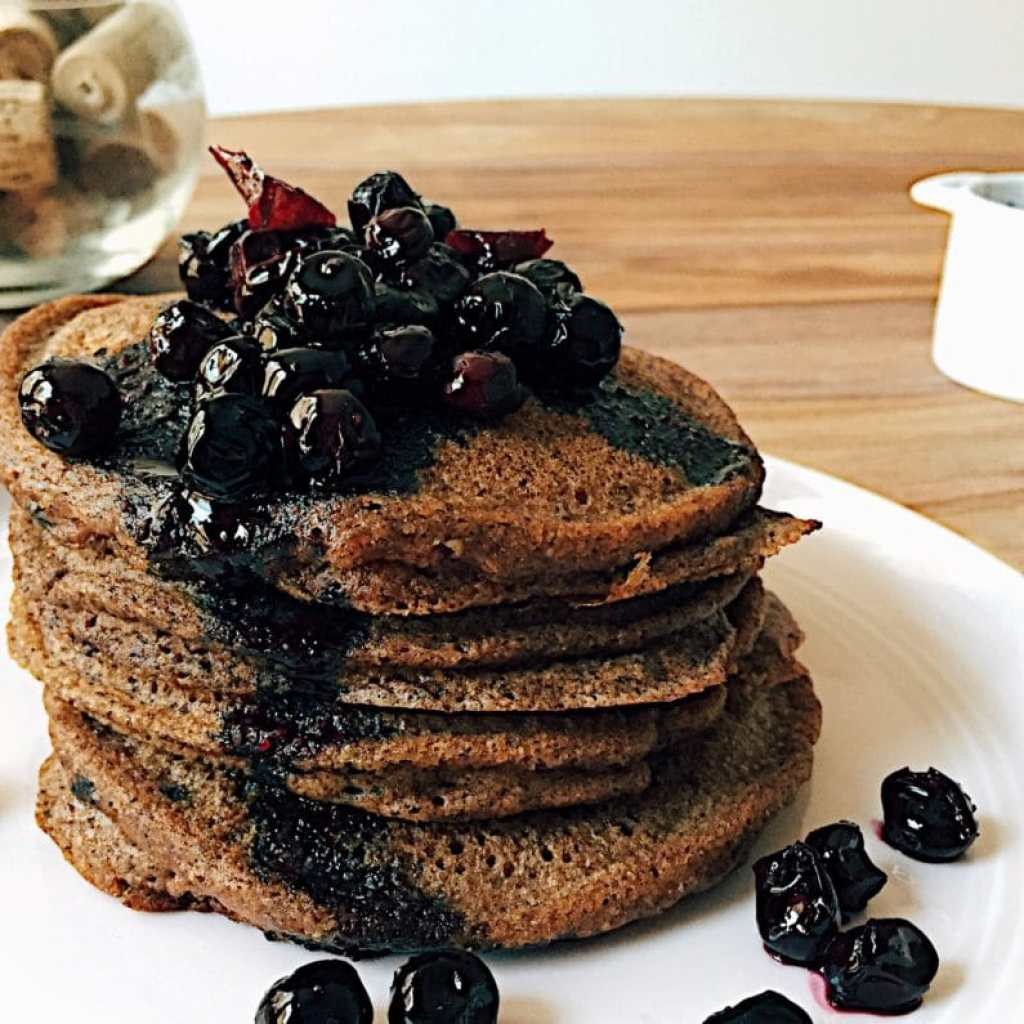 Tigernut Chocolate Pancakes