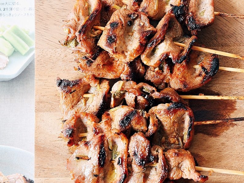 Caramelized Grilled Pork Skewers (Paleo, Whole30, Keto)