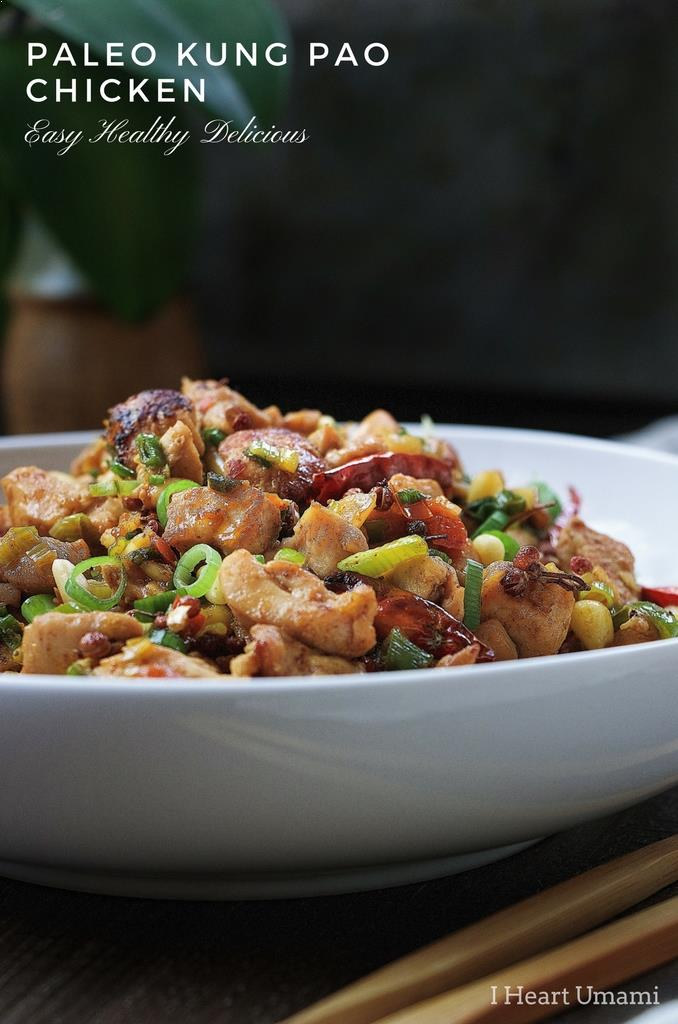 Paleo Kung Pao Chicken Recipe