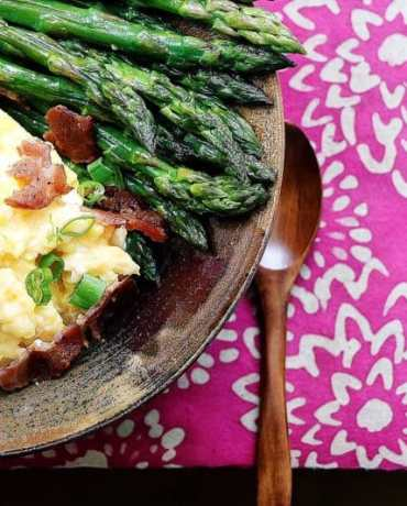 Soft Scrambled Eggs Without Cheese