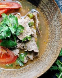 Vietnamese Pho-Inspired Tomato Beef Soup Recipe