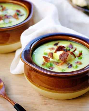 Delicious Paleo Cauliflower Yam Cream Chowder recipe