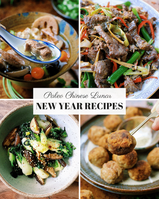 Paleo Chinese New Year Recipes. Paleo Asian food. Paleo Chinese food. I Heart Umami. IHeartUmami.com