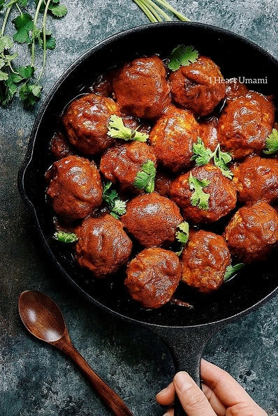 Paleo creamy coconut milk meatballs - Top 10 Paleo meatball recipes