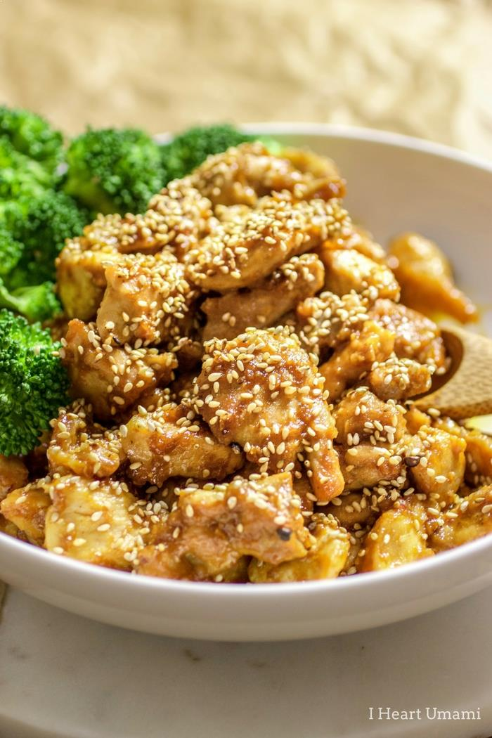 Chinese Sesame Chicken recipe Paleo Whole30 Gluten Free friendly