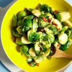 Thai-inspired Sauteed Brussels Sprouts Recipe from IHeartUmami.com