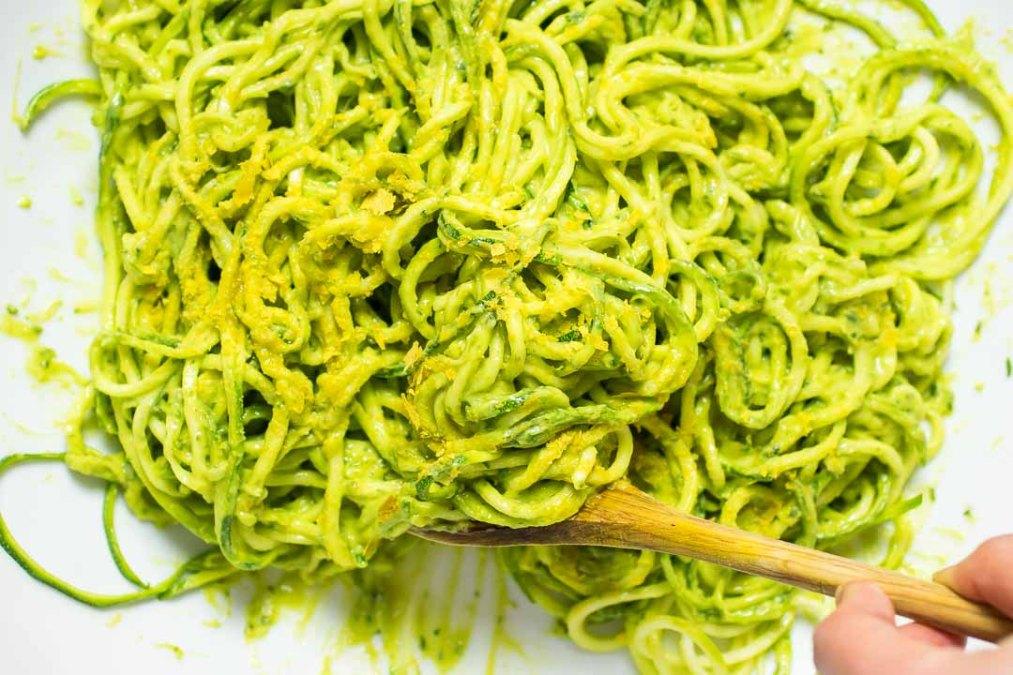 Zucchini Pasta Shrimp
