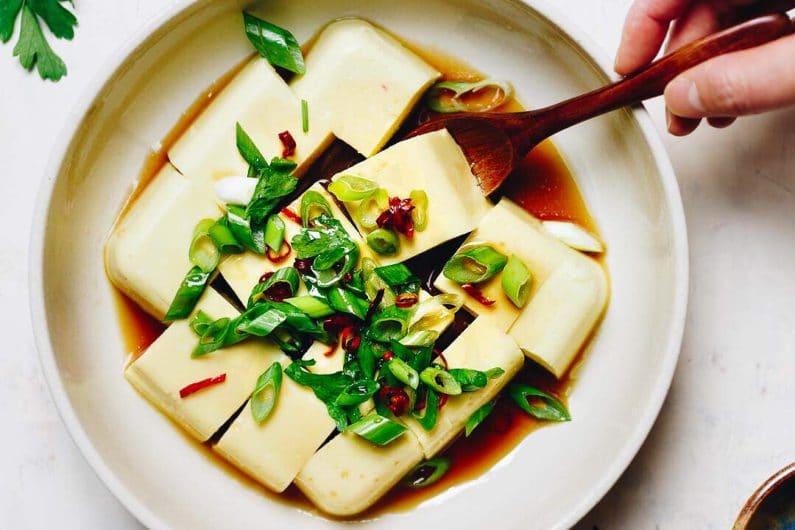 Paleo Keto Egg Custard Tofu