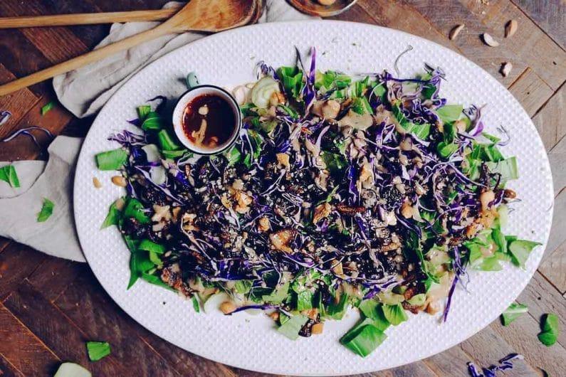 Paleo Thai Bok Choy Salad