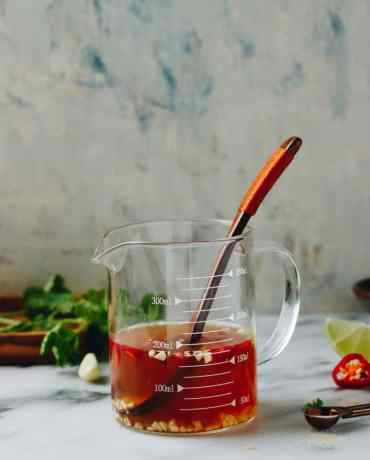 Vietnamese Dipping Sauce - Nuoc Cham- is Paleo, Whole30, and Keto friendly from I Heart Umami.