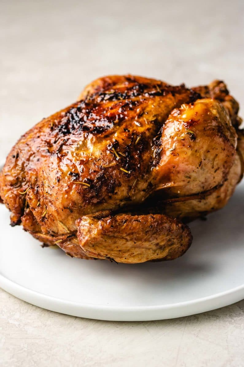 Air Fryer Whole Chicken Paleo Whole30 Keto I Heart Umami