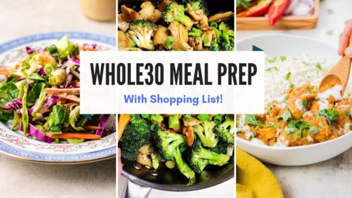 Whole30 Meal Plan Guide I Heart Umami