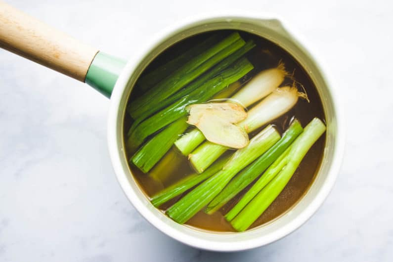 Wonton soup broth I Heart Umami