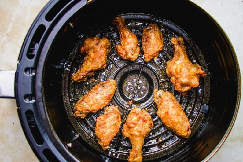 How to cook chicken wings in air fryer I Heart Umami