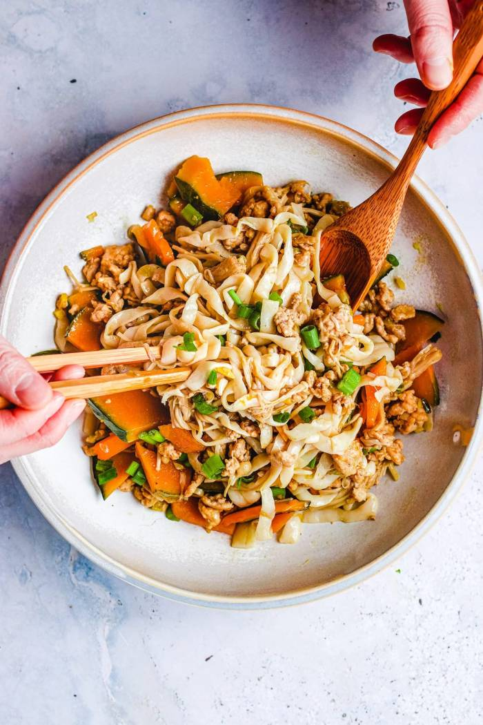 Shirataki Noodle with Kabocha Japanese Pumpkin Recipe