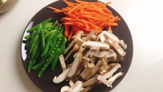 Chop vegetables
