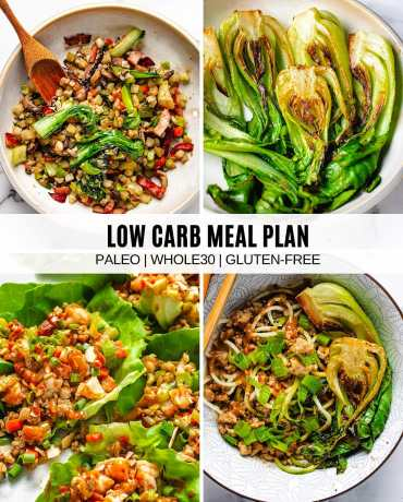 Whole30 meal plan blog post cover