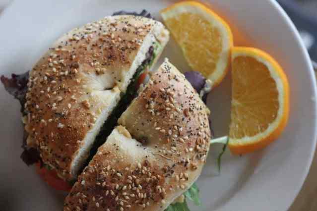 lamplighter bagel sandwich Richmond