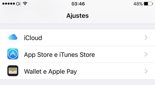 iCloud Pref iOS