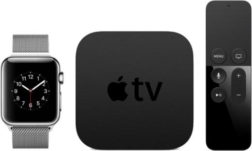 Apple Watch e Apple TV.