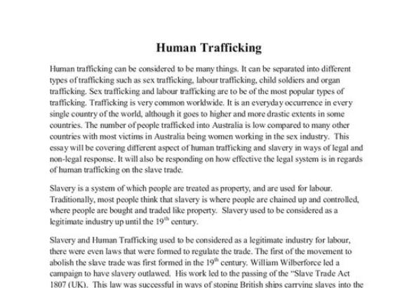 human trafficking essay introduction docoments ojazlink human trafficking thesis